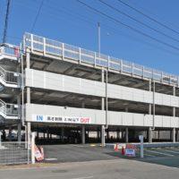 立体駐車場新築工事施工例(東京某店様)1