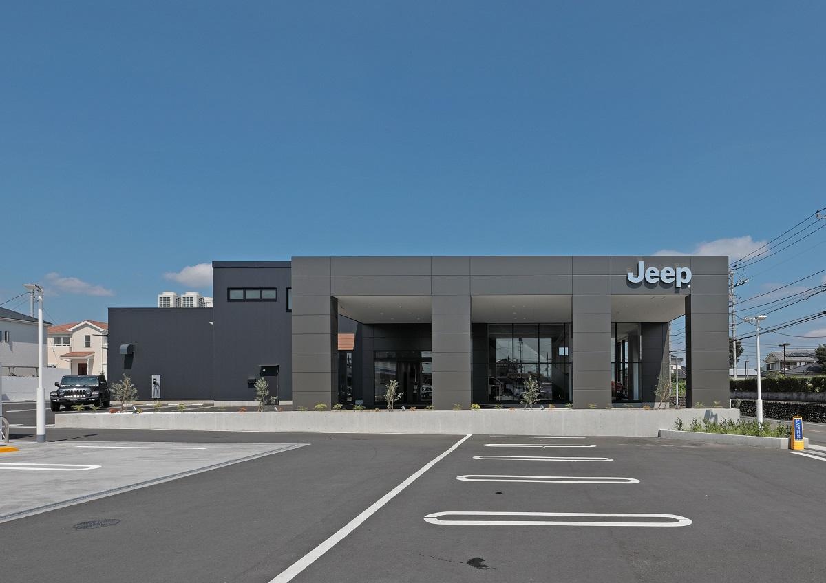 外観 Jeep多摩青梅様 新築工事 株式会社ネクジット