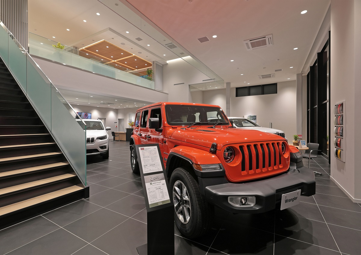 内観 Jeep多摩青梅様 新築工事 株式会社ネクジット